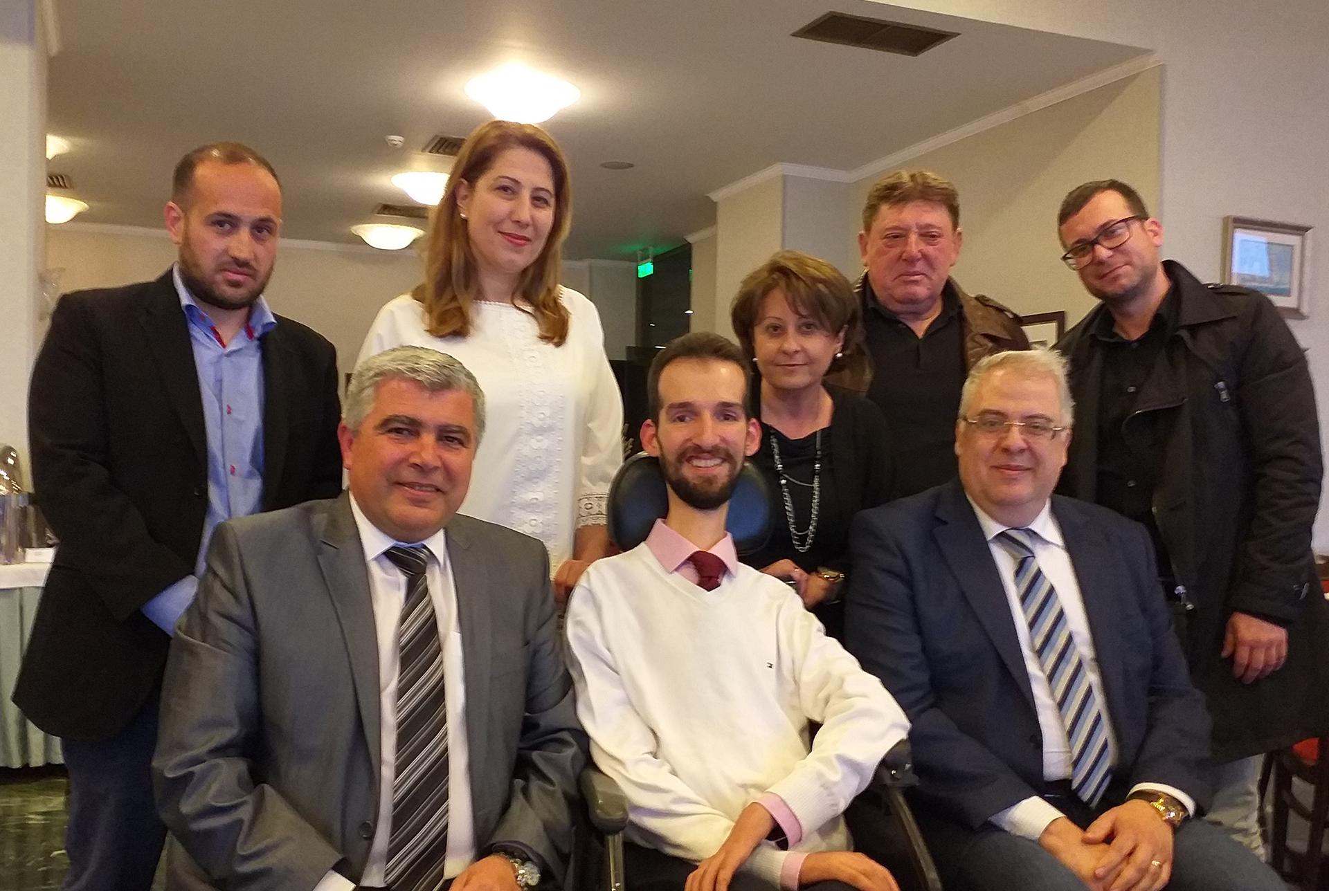 Συνάντηση συνεργασίας Υπ. Δημάρχου Νίκου Γεωργάκου με τον Ιατρό και Υποψήφιο Ευρωβουλευτή Ν.Δ. κ. Στέλιο Κυμπουρόπουλο παρουσία υποψήφιων του συνδυασμού «ΔΗΜΟΣ ΤΗΣ ΚΑΡΔΙΑΣ ΜΑΣ!» για ένα σύγχρονο προσβάσιμο Δήμο