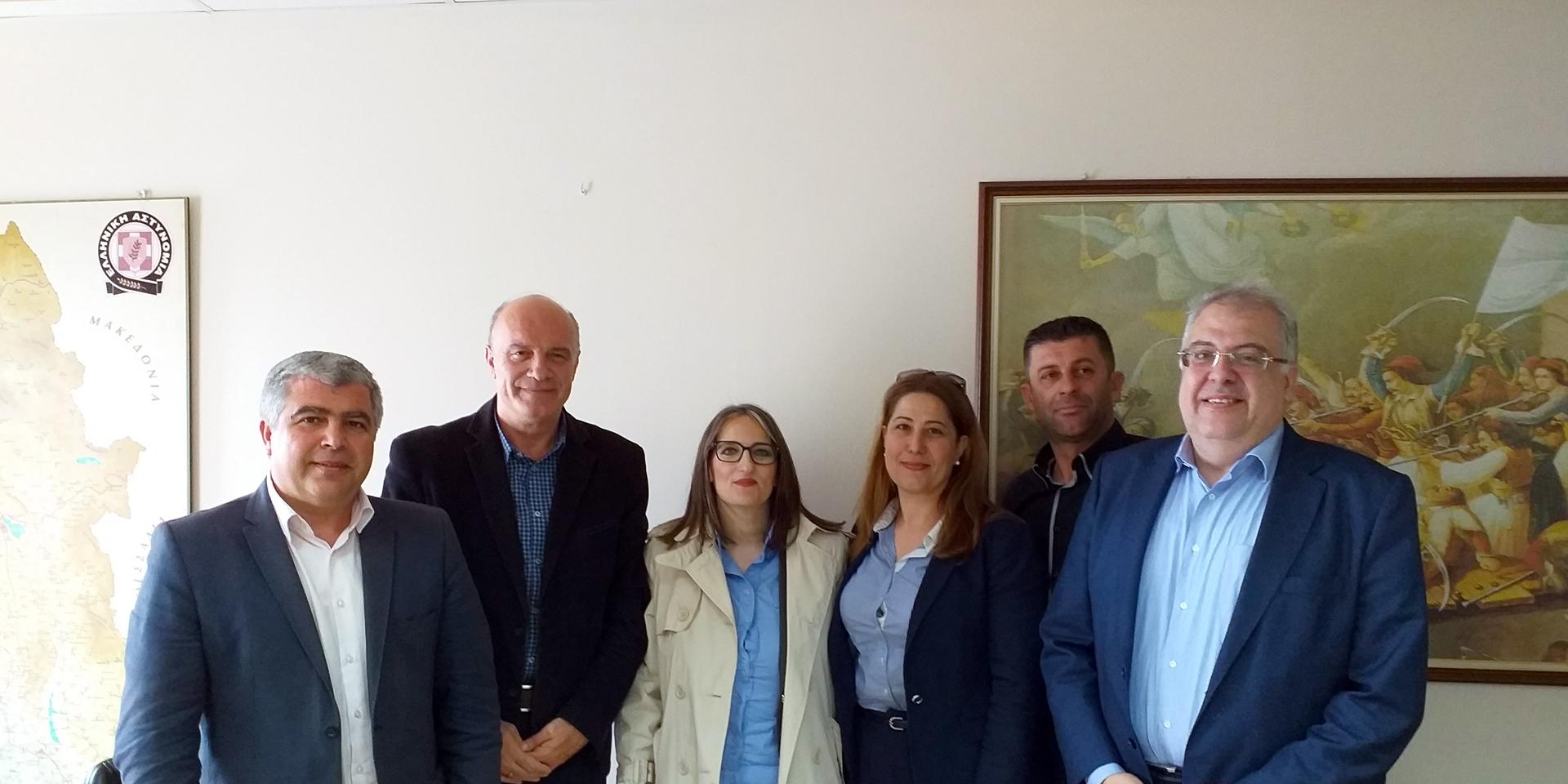 Επίσκεψη ενημέρωσης του Υπ. Δημάρχου κ. Νίκου Γεωργάκου στη Διεύθυνση Αστυνομίας Πρέβεζας συνοδεία υποψηφίων του συνδυασμού «ΔΗΜΟΣ ΤΗΣ ΚΑΡΔΙΑΣ ΜΑΣ!»