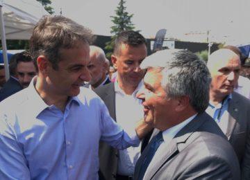Συνάντηση του Δημάρχου Πρέβεζας με τον Πρωθυπουργό καθώς και κυβερνητικά  και αυτοδιοικητικά  στελέχη στην ΔΕΘ.